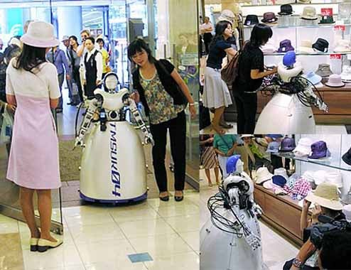 Telerobotic Shopper Lets You Hit the Malls Using a Cellphone