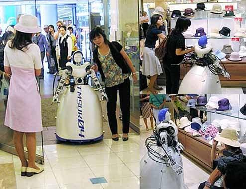 Telerobotic Shopper Lets You Hit the Malls Using a Cellphone