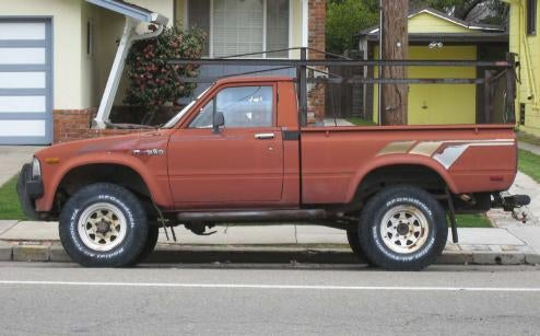 1983 Toyota 4x4 Pickup Truck