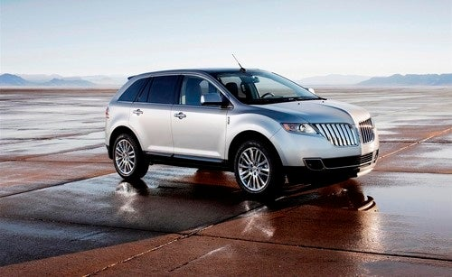 2011 Lincoln MKX: Detroit Show Press Photos