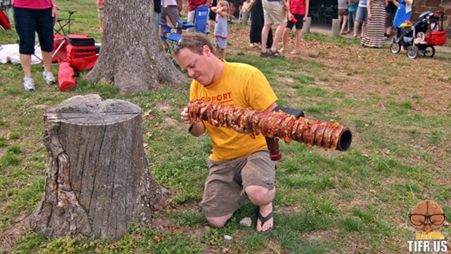 The Bacon Bazooka: Meat Your Maker