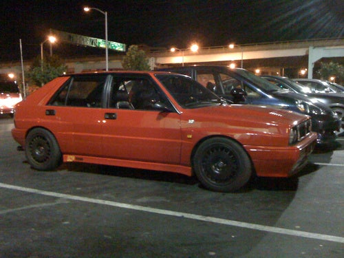 Lancia Delta HF Integrale 16V Down On The San Francisco Street