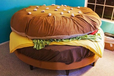 Pillow Fries & Shake Nightstand Not Included