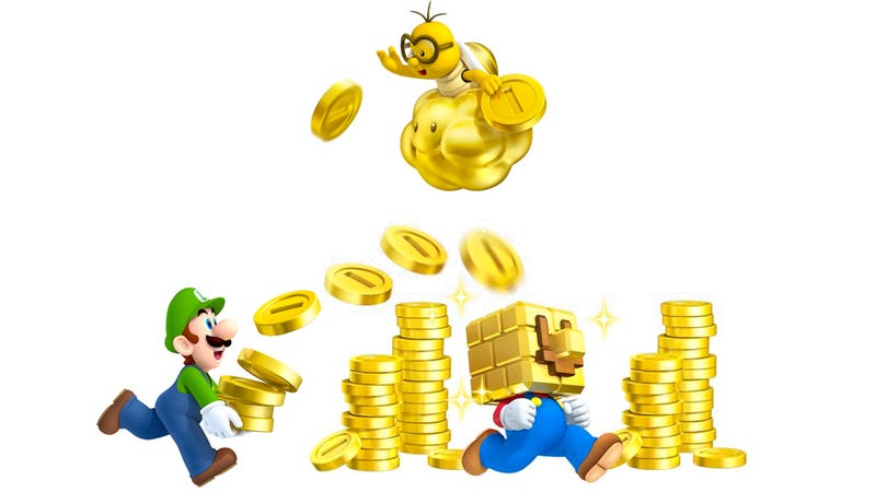 Over 10 Billion Coins Have Been Collected In New Super Mario Bros 2...
