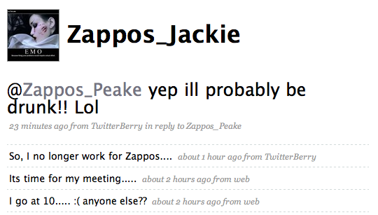 At Zappos, careers live by the Twitter, die by the Twitter