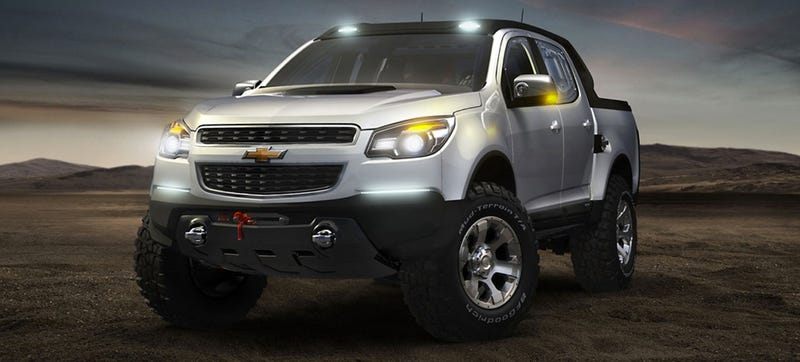 New Rumor Of A Ford Raptor-Fighting Chevy Colorado Titillating Us