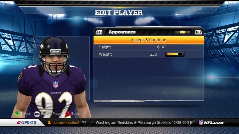 Abusive Player Editing Shows We Can't Have Nice Things in Madden
