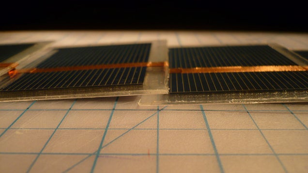 Build Your Own Fold-Out Set of Mini Solar Panels