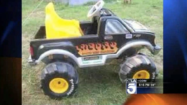Power Wheels Truck And Trailer in Toy Power Wheels Truck
