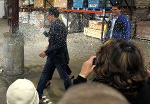 Glitter Attack Provokes Bizarre Mitt Romney 'Joke'
