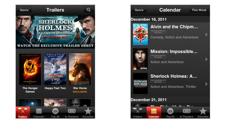 Bonus Download Wednesday Continues: Apple's iOS Movies App Is Awesome