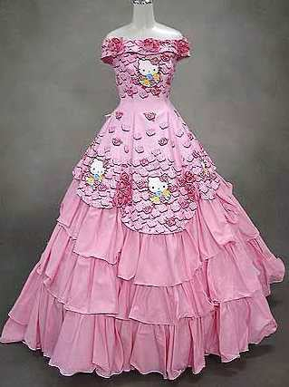 Hello Kitty Wedding Gowns: For The Child(ish) Bride