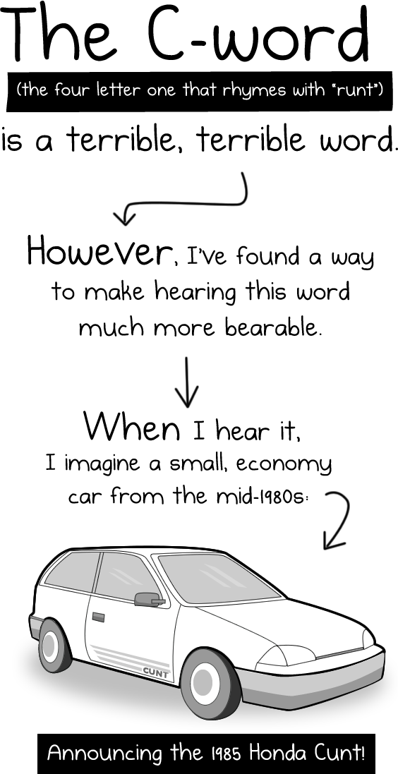 The Oatmeal: How To Make The C-Word More Bearable