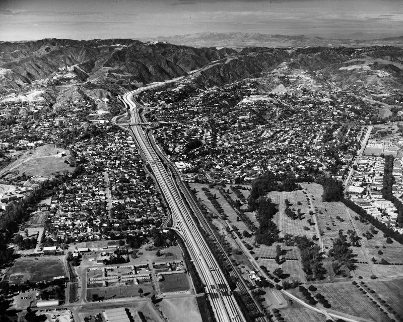 They Moved Mountains (And People) To Build L.A.'s Freeways