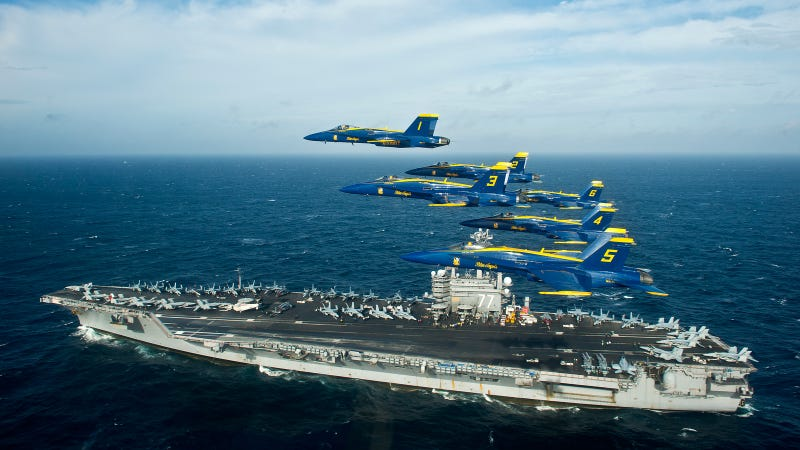 When I grow up I want to be a Blue Angels pilot
