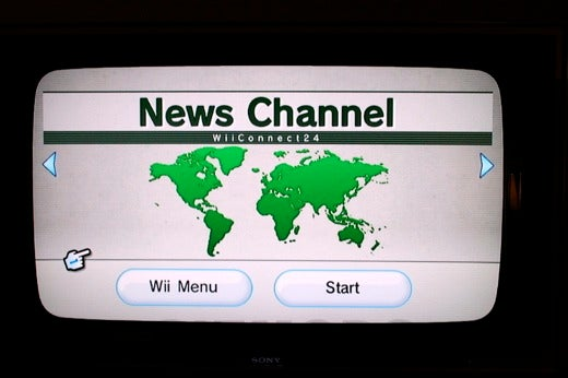 First Nintendo Wii News Channel Tour and Screenshots
