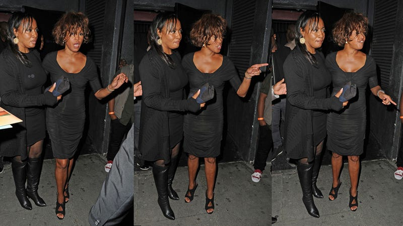 WTF Happened To Whitney Houston the Other Night?
