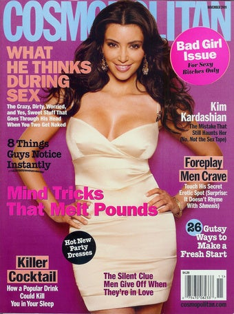 """November Cosmo: """"Bad Girls"""" Always Bend To Their Boyfriends' Whims"""