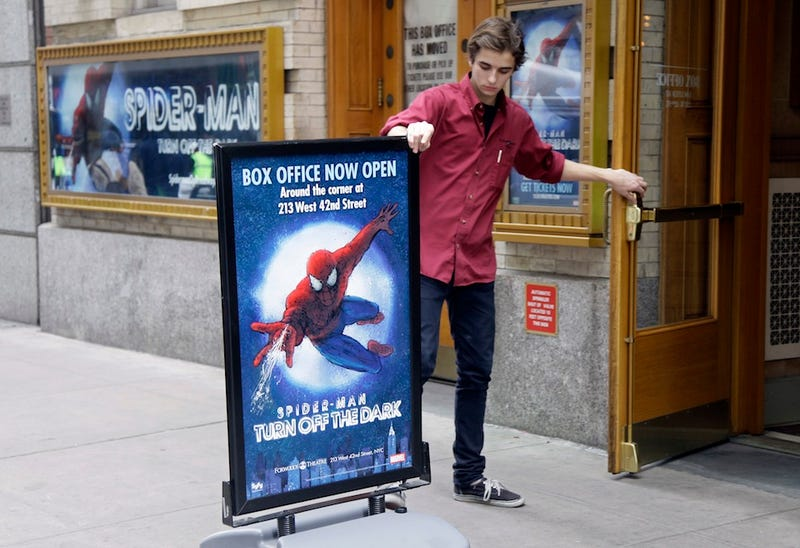 Struggling Spider-Man Musical To Bring On Co-Director