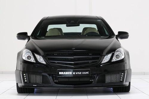 Brabus E V12 Coupe: Once Your E-Class Goes Black...