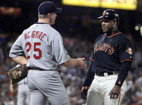 Barry Bonds Fan Club Getting A Little Jealous Of McGwire Acceptance