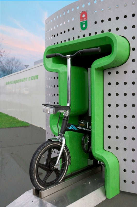 Bike Vending Machine Looks Cool, Dispenses Goofy Bikes
