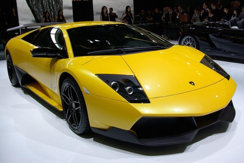 Shanghai Auto Show: Lamborghini Murcielago LP670-4 SV, Live!
