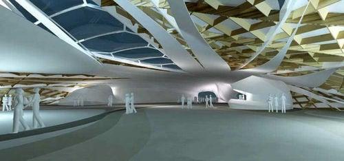 Fluid Pavilion Gallery