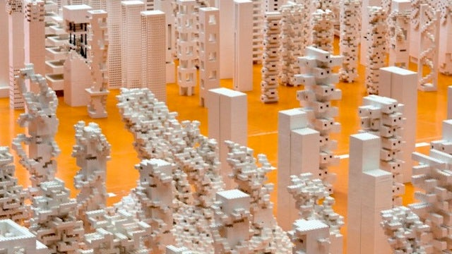I Want to Crawl Through This Sprawling Lego City