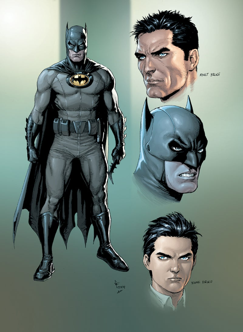 How I Designed Batman's First Costume
