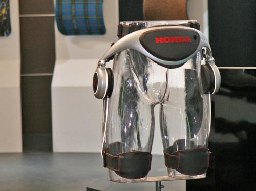 Honda Shows Off New Plastic Gluteus Exercise Machine