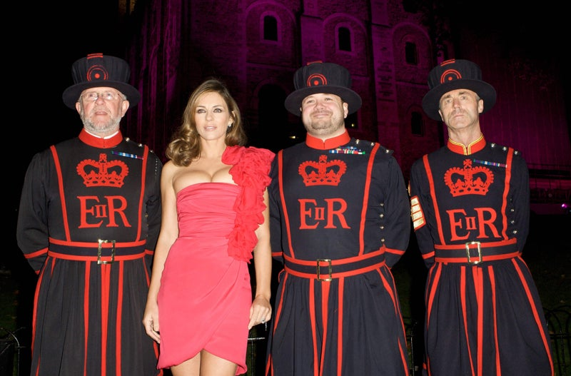 Liz Hurley's Dream: Queen Elizabeth