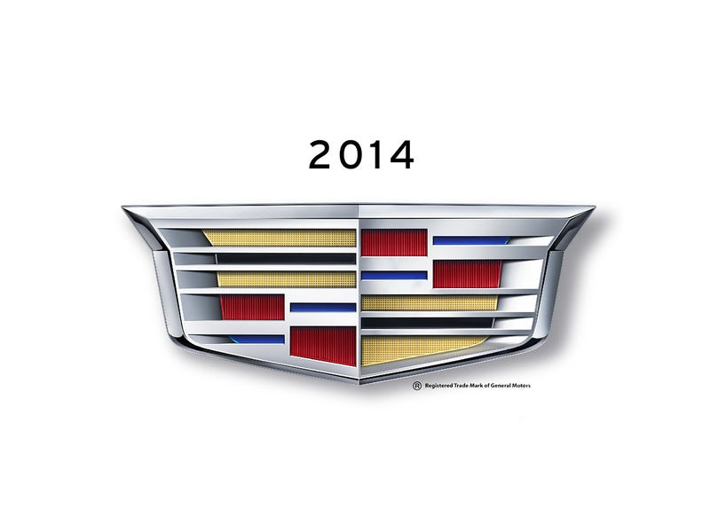 When the hell did Cadillac change their logo?