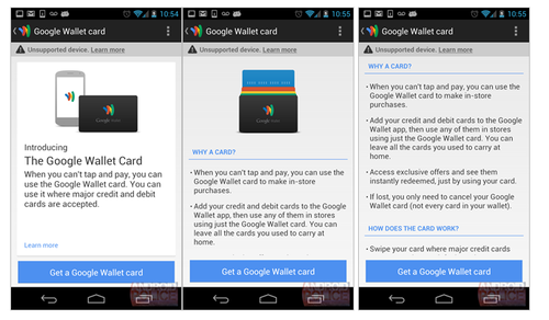 Google Wallet Looks Like It's Getting a Physical Credit Card