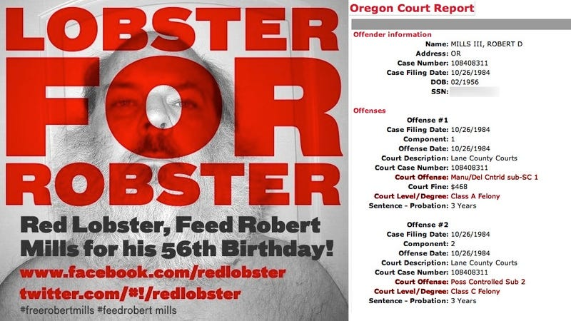BuzzFeed's Fake Twitter Campaign Wins Birthday Lobster Feast for Drug Felon