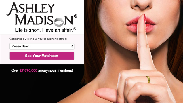 Extramarital Dating Website Spies on Users' Conversations. For Science.