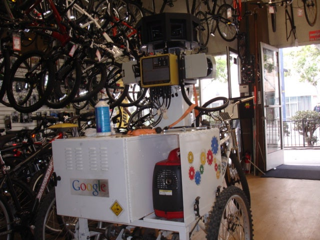 Google Street View Employs High-Tech Tricycles for Hard-to-Reach Places