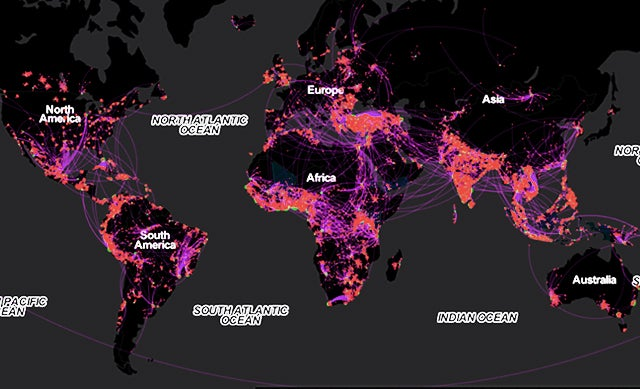 What Facebook Tells Us About the Hidden Paths of Mass Migration