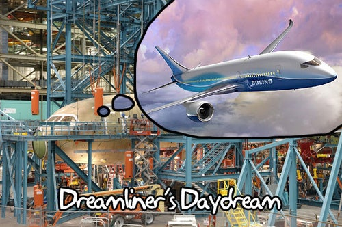 The Webcast of the Boeing Dreamliner's First Flight Starts Now