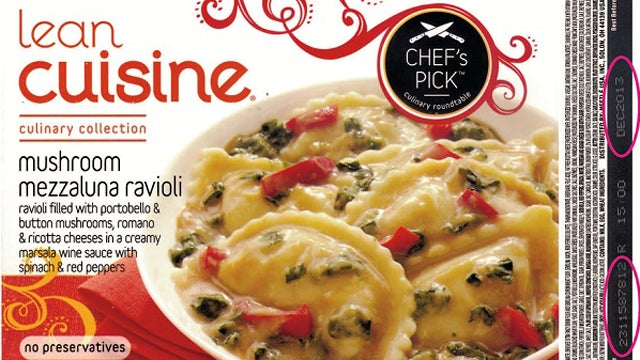 Lean Cuisine Mushroom Ravioli Recalled Because It Has Glass In It (Also: Gross Mushrooms)