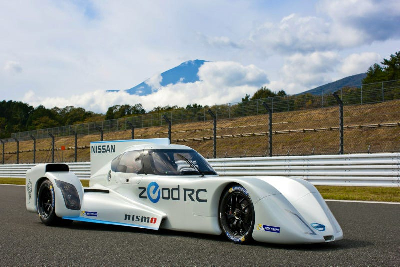 Nissan ZEOD RC Hits The Track At Fuji