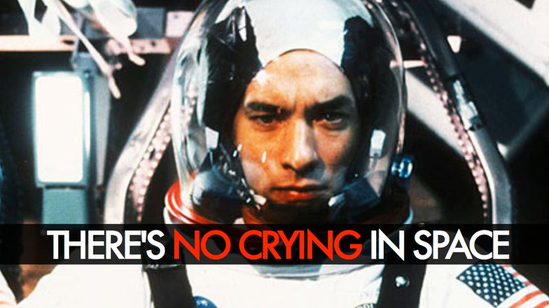 In space, no one can hear you cry