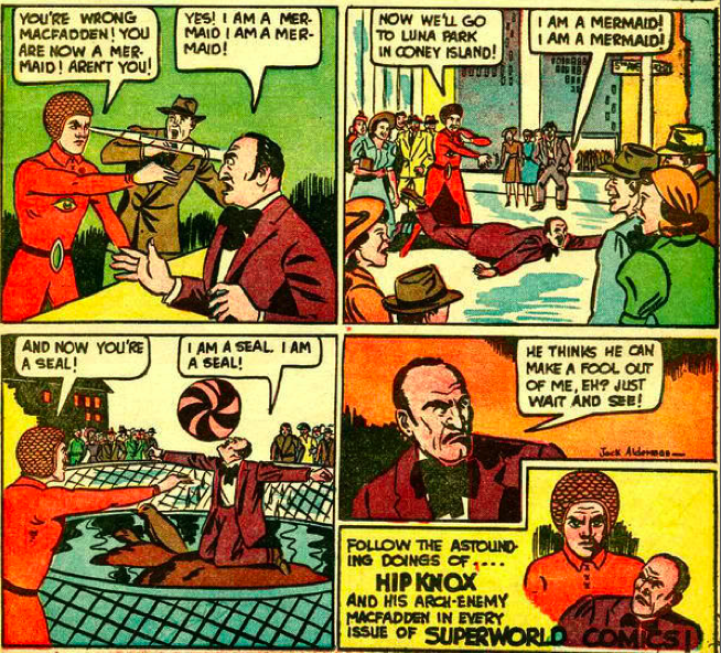 5 reasons why Hip Knox the Super Hypnotist is the worst superhero of all time