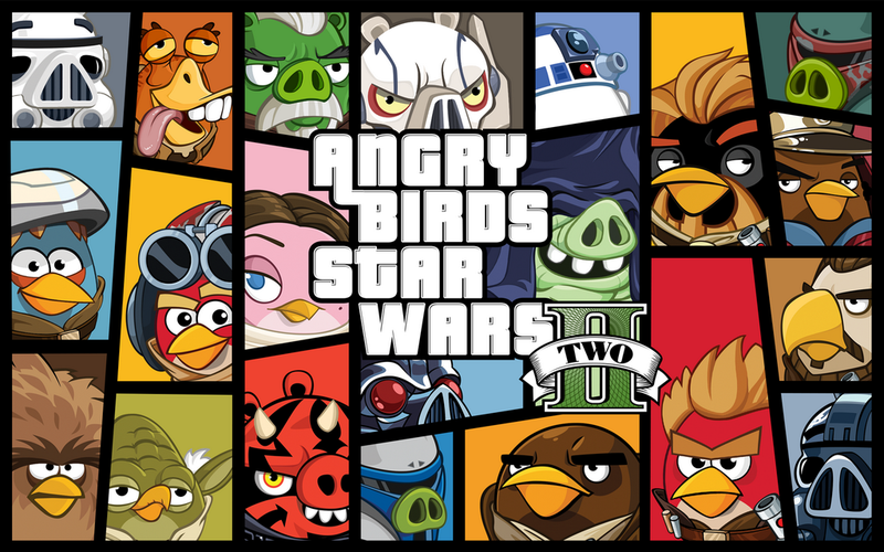 Angry Birds Gloms Some Of Today's GTA Hype With One Terrific Drawing