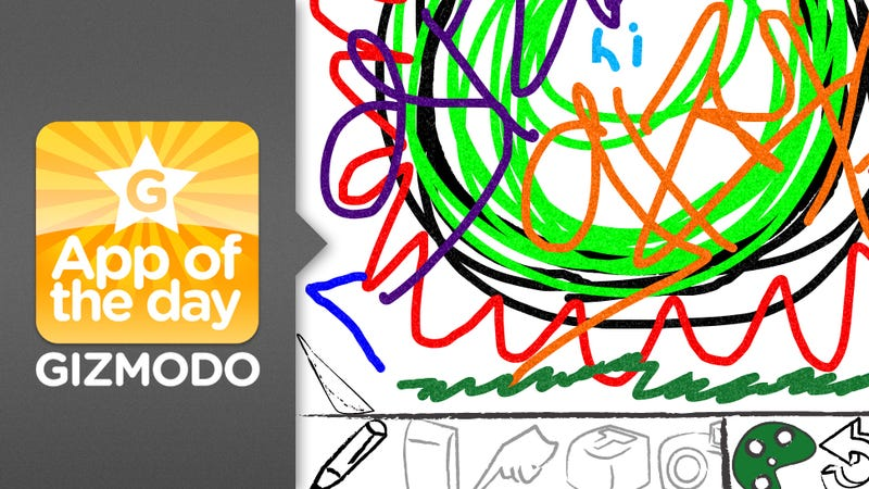 Wreck This for iPhone and iPad Lets You Kill Time By Scribbling Like a Sloppy Kid Again