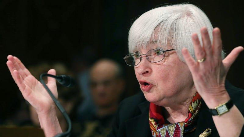 Congressional Jerks Mansplain All Over Janet Yellen