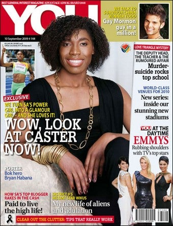 How Not To Solve A Gender Dispute: Semenya's Magazine Makeover