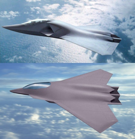 Boeing Shows Off Futuristic Fighter Jet Designs