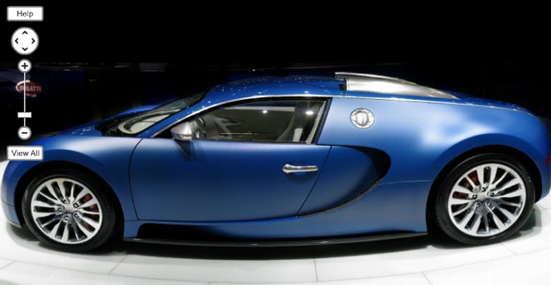 NASA Gigapan Camera Captures Bugatti Veyron Bleu Centenaire In 260-Megapixel Glory