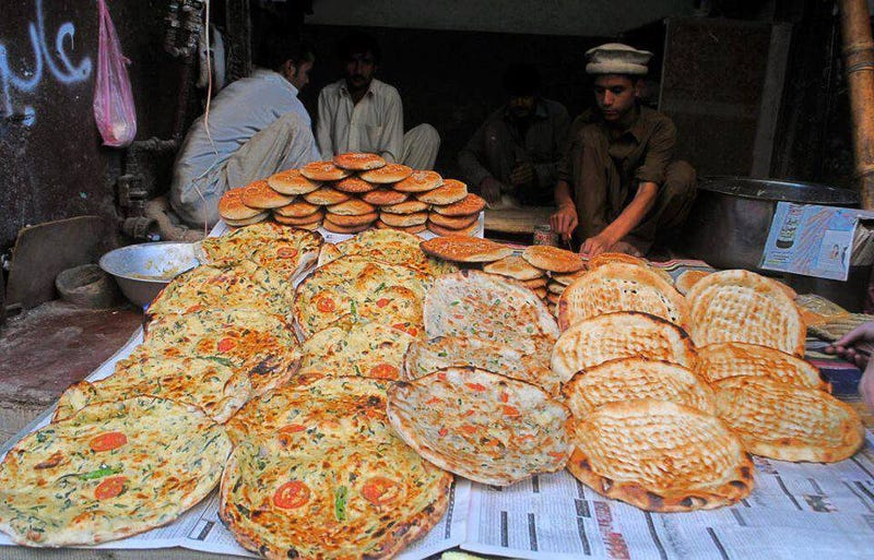 Pashteeza is the Pashtoon/Desi version of Pizza
